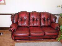 3 seated leather sofa