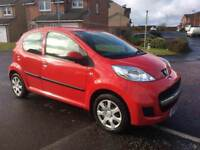 10 Reg Peugeot 107 ( ONLY £20 YEAR TAX) Full years MOT as Fiesta Corsa Clio C1 Aygo Punto Micra Polo
