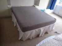 King Divan Bed with IKEA Mattress