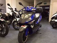 Lexmoto Gladiator 125cc Automatic Scooter, Sports Exhaust, 1 Owner, Back Box, Good Condition