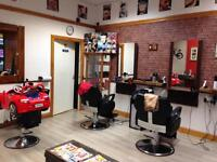 Busy barber shop to sell in kilmarnock
