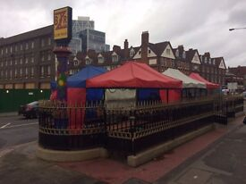 Street Food Stall Space For Rent in one of the best areas in London