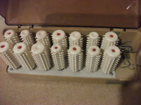 VINTAGE HAIR CURLERS OLD FASHIONED ELECTRIC