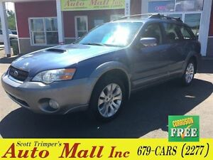 2006 Subaru Outback 2.5XT/Leather/Sunroof