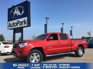 2015 Toyota Tacoma V6| 4X4| Extended Cab| Lined Bed & Box