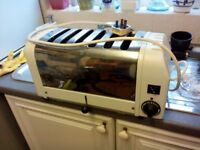 Dualite toaster 6 slice for spares