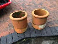 Terracotta chimney pots