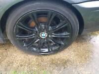 Bmw black alloys