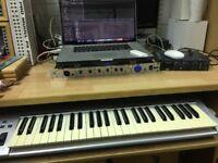 Apple Mac based mobile music studio rig - just add mic and headphones