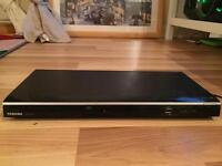Toshiba DVD player with scart lead and USB port