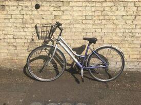 "18"" Falcon Ladies hybrid bike including basket"