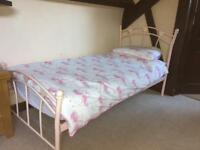 Pink Single Bed Frame