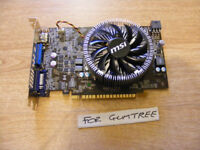 MSI (nVidia) GTS450 1GB DDR3 graphics card for sale