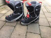 Salomon AGion snowboarding boots