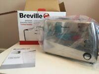 Breville Stainless Steel 2 Slice Toaster – NEW