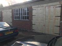 Workshop / storage lock up units to rent large yard £200 p w
