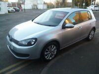 Volkswagen GOLF Match TDI,5 door hatchback,1 former keeper,2 keys,full MOT,FSH,Stop/Start,PN11YBG