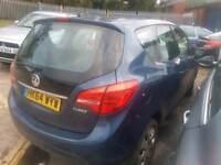 Vauxhall meriva 2015 1.4 turbo auto damaged