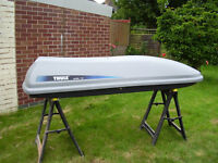 Thule Alpine Car Roof Box with Roof Bars