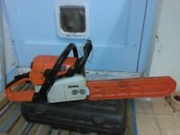 stihl ms230 chainsaw