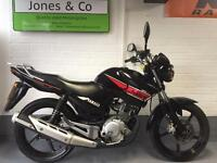 Yamaha YBR 125 (2013) Black/red Delivery available