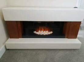 electric fire place - modern design