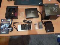 Sony Cyber-shot RX100 20.2MP Digital Camera - Black Fully Boxed. canon ii g9 g15