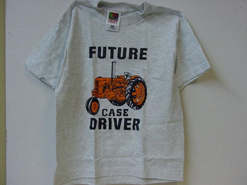 "CASE ""FUTURE DRIVER""   T-SHIRT, NEW, SIZE 6-8"