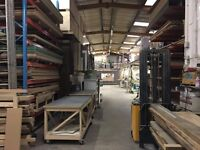 WOOD WORKSHOP - BENCH SPACE TO LET - last one!