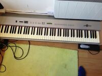 Full Size 88 Key Electric Piano + Stand + Pedal