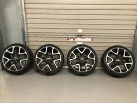Genuine 20inch Vauxhall Astra J VXR rims and tyres