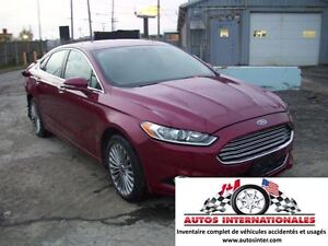 2016 Ford Fusion TITANIUM AWD 4X4 4CYL ECOBOOST 2.0T FULL EQUIPP