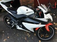 Yamaha, Model YZF R125 white