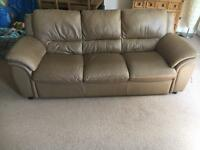 3 Seater Couch & Recliner Chair - FREE