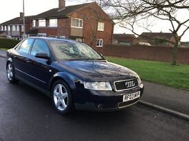 2003 AUDI A4 1.9 TDI SPORT, 25TH JULY MOT, EXCELLENT CONDITION FOR AGE