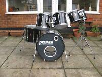 Drums - Premier APK - 6 Piece kit - Will Split