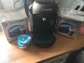 Bosch Tassimo machine used four times