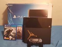 PS4,JET BLACK ,500GB Working with controller and wires ,games