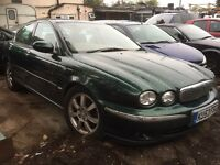 2003 Jaguar X-type 2.0 Diesel, Spares Or Repaires, Starts And Drives