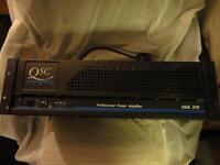 QSC AMPLIFIER USA 370