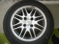 FORD FOCUS 15 INCH ALLOY WHEEL FITTED WITH ALMOST NEW FULDA TYRE