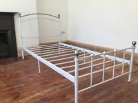 Style Metal Single Bed No Mattress / Can Deliver