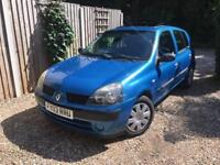 Renault Clio 1.5 dci diesel £30 road tax 59000 low miles