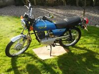 RARE 2 STOKE LEARNER/COMMUTER 1990 SUZUKI GP100 11HP,CLASSIC INSURANCE 80MPG, £17 ROAD TAX, FORFAR