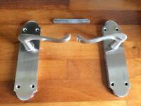 A Pair of Door Handlers - almost new