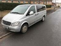 Mercedes Benz Vito 111 Cdi Lwb 9 Seater ( Rear Seats Missing) Currentlly 6 Seater