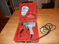 Vintage Wolf Sapphire Electric Drill - working & original case