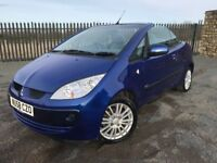 2008 58 MITSUBISHI COLT 1.5 CABRIOLET - *ONLY 51,000 MILES* - PART SERVICE HISTORY - CLEAN EXAMPLE
