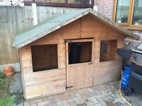 Wooden Wendy House For Sale