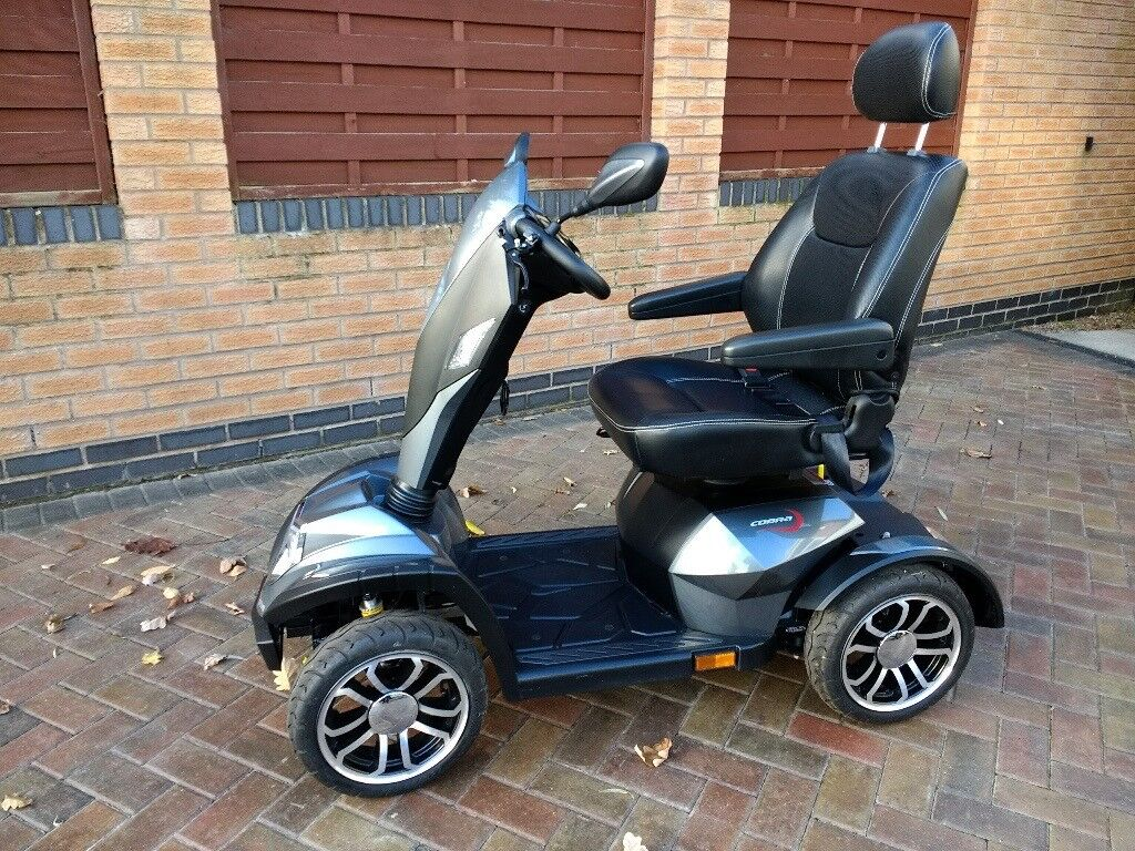 Drive Cobra Mobility Scooter, Silver/Grey , 4/8mph | in Wirral, Merseyside  | Gumtree